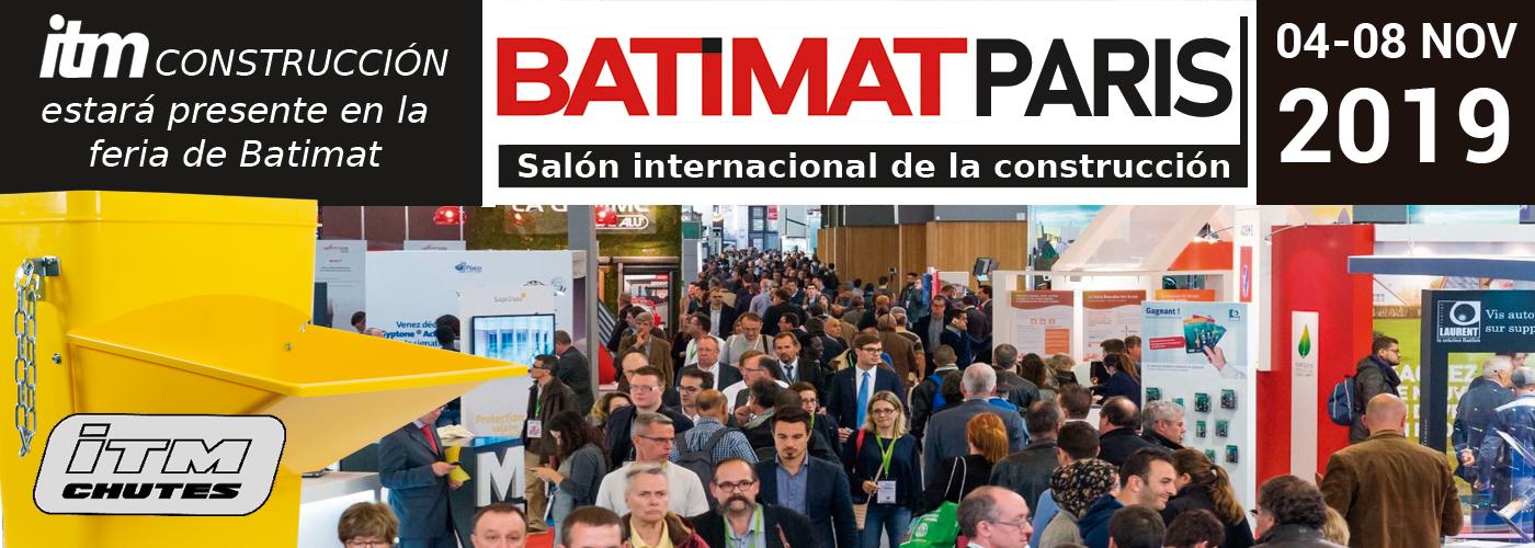 ITM Construcción presenta sus novedades en la feria de Batimat París este 2019