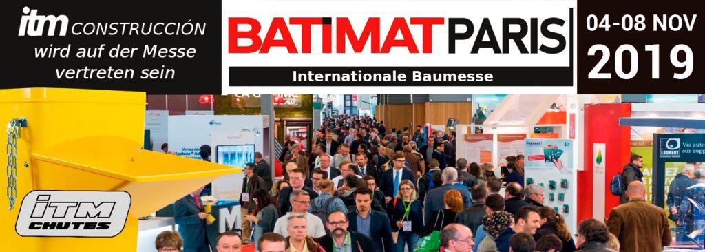 ITM Construcción präsentiert seine Neuheiten auf der Batimat Paris Messe