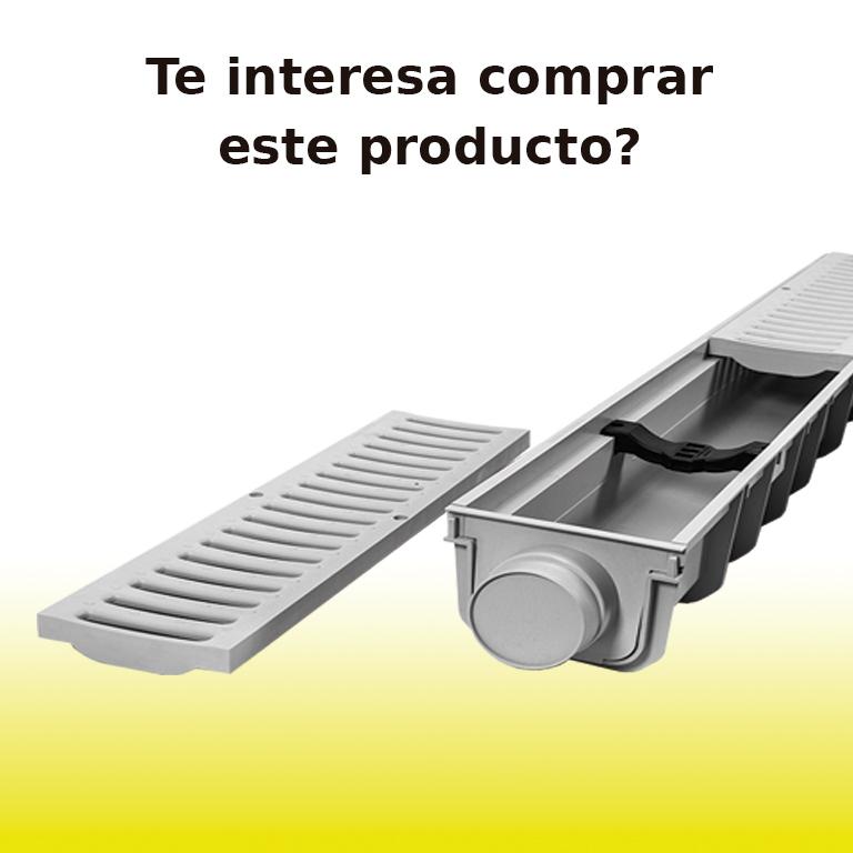 Estás interesado en comprar canaletas con rejilla de ITM CONSTRUCCIÓN