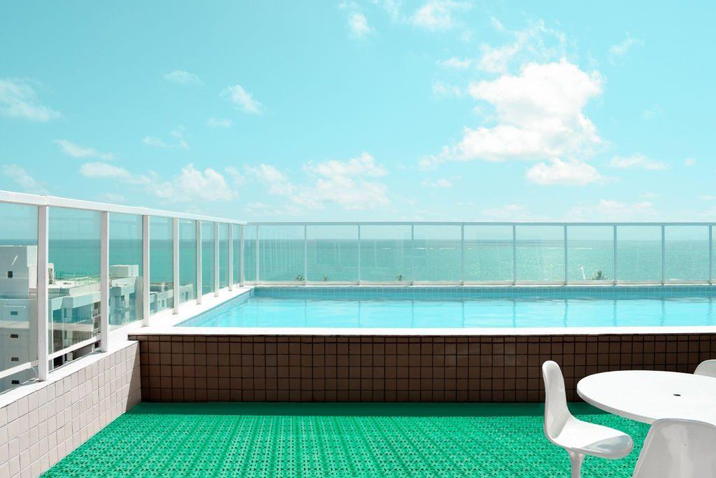 Loseta para piscina de la marca valenciana Loseplast