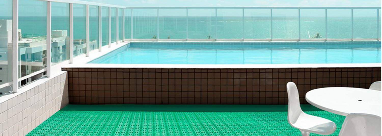 Losetas de plástico para piscina